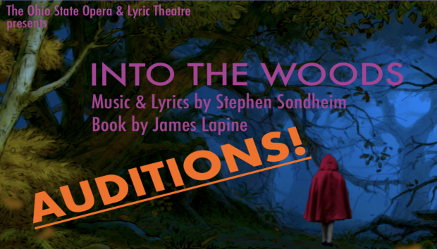 """Announcing """"Into the Woods"""" auditions"""