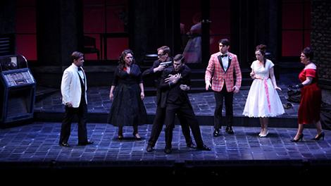 "Scene from ""Don Giovanni."" Photo by Matt Hazard."